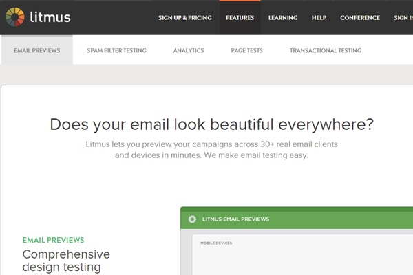 Litmus Email Previews